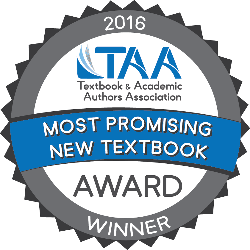 2016 Most Promising Text Book Winner